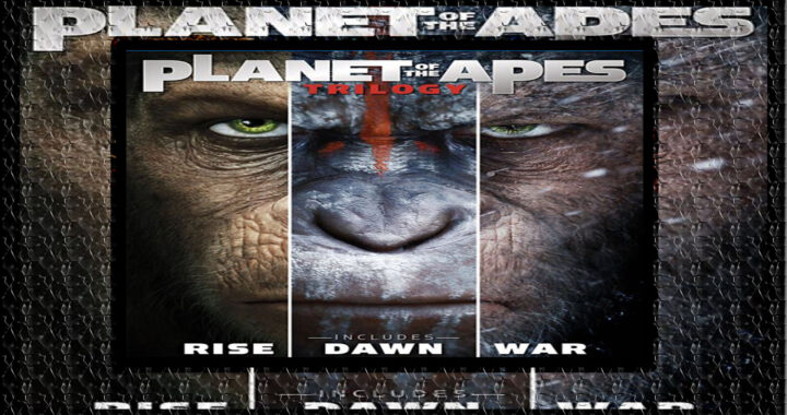 Descargar La Trilogia de The Planet of Apes «Rise / Dawn / War» [Google Drive]